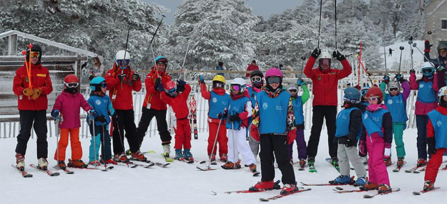 Navacerrada Domingos esqui